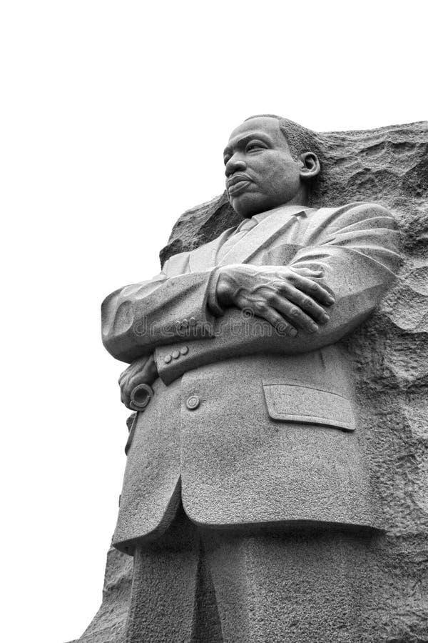 Martin Luther King Memorial Statue Washington gelijkstroom stock fotografie