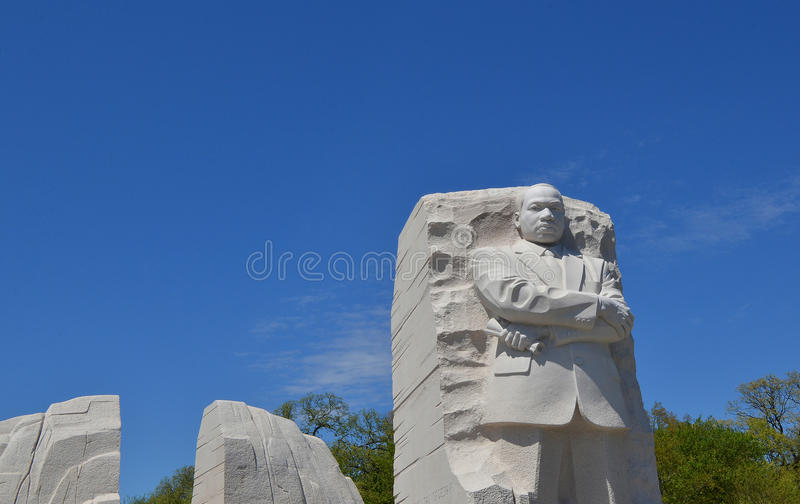Martin Luther King Memorial, Washington DC stockbild