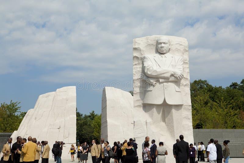 Martin Luther King, Monument Jr in Washington, gelijkstroom stock afbeeldingen