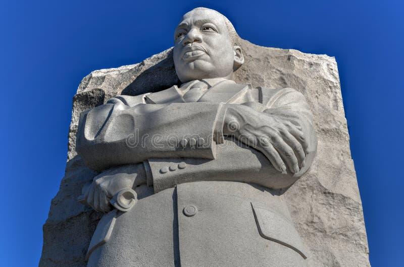 Martin Luther King Monument - Washington, DC fotos de archivo