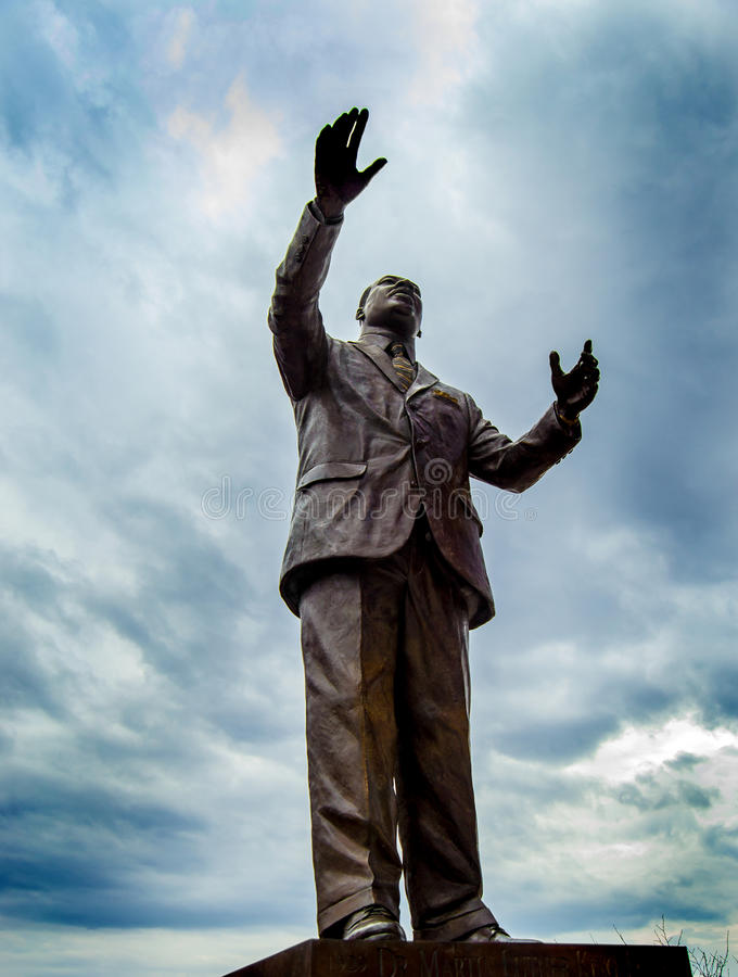 Martin Luther King, monumento do memorial do Jr. fotografia de stock