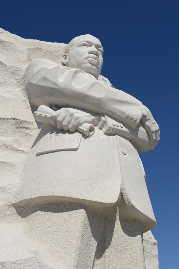 Martin Luther King Statue stock foto