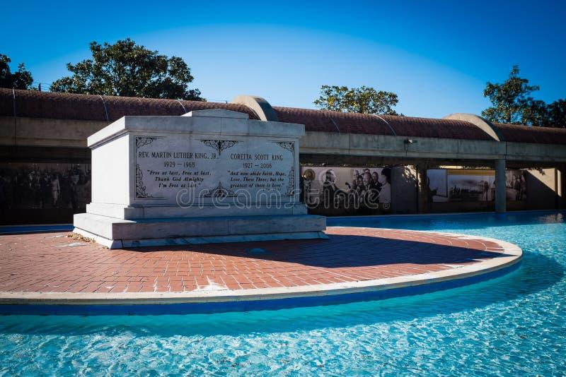 Martin Luther King Tomb Atlanta images libres de droits
