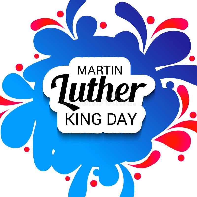 Martin- Luther Kingtag lizenzfreie abbildung