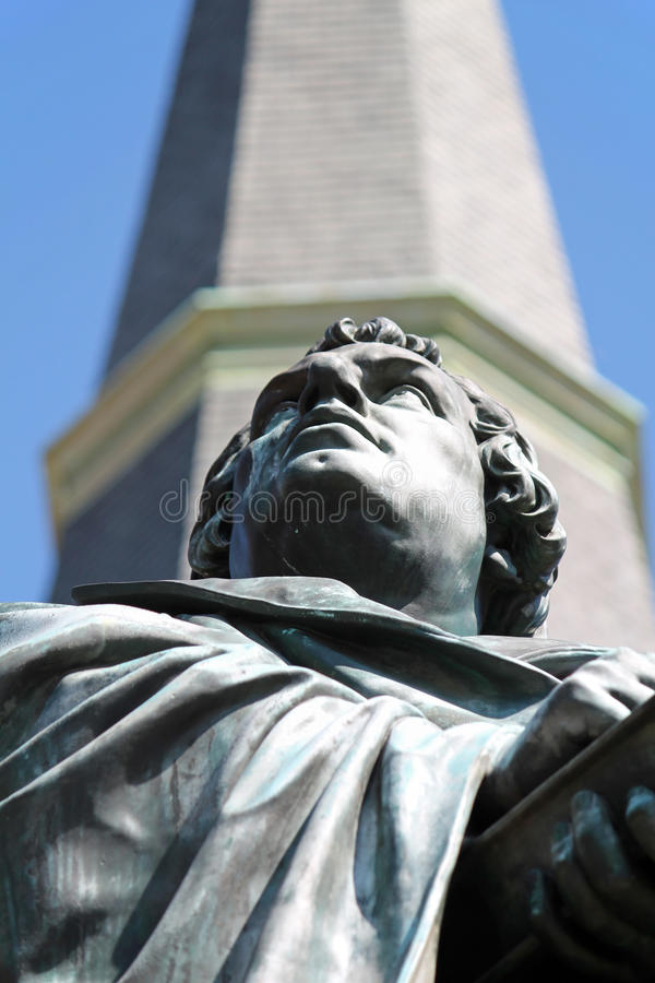 Martin Luther Statue 3 fotografia de stock royalty free