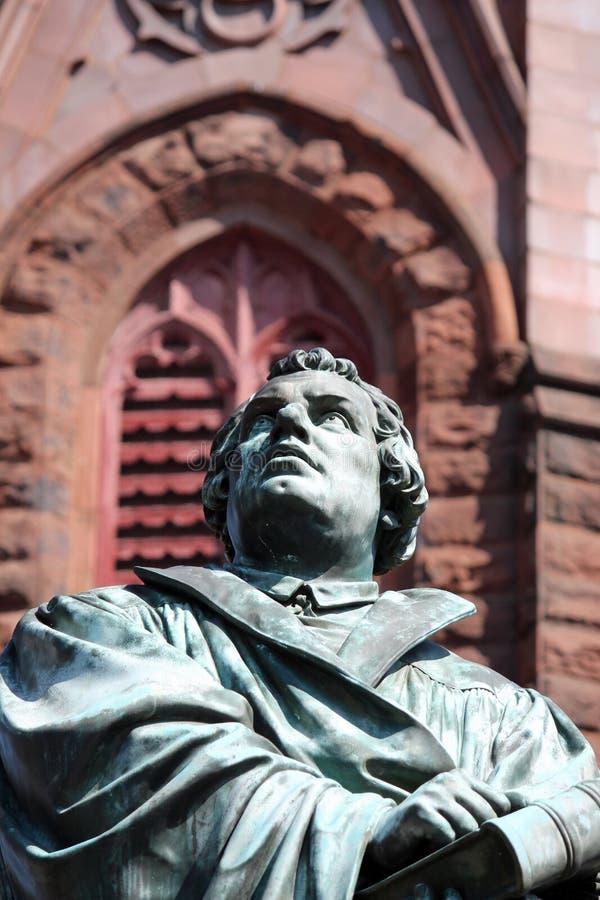 Martin Luther Statue 2 imágenes de archivo libres de regalías