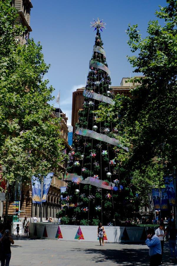 Martin miejsca Sydney Australia Xmas zdjęcie stock