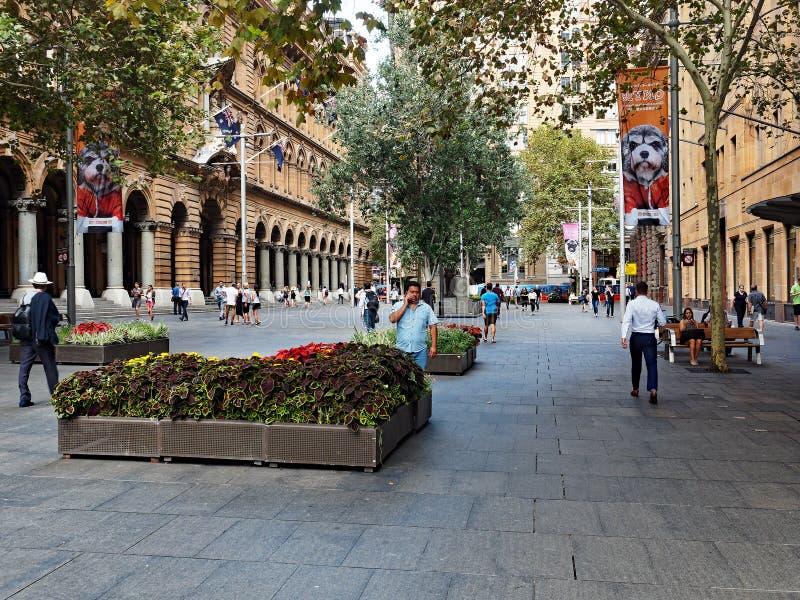 Martin miejsce, Sydney miasto, Australia obrazy stock
