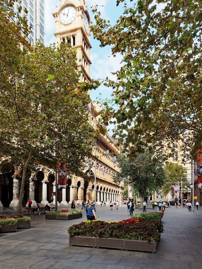 Martin miejsce, Sydney miasto, Australia obraz royalty free