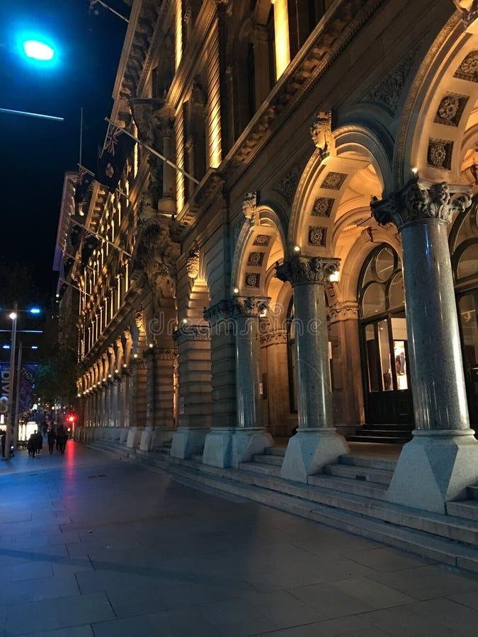 Martin Place royaltyfri foto