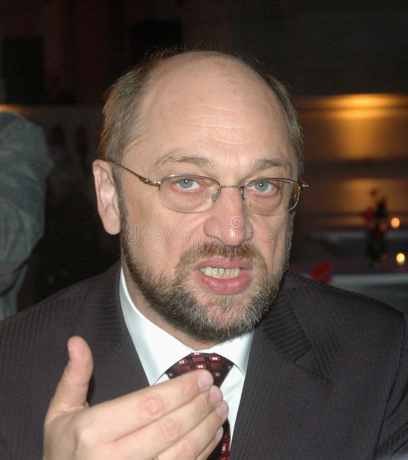 Martin Schulz. NOVEMBER 6, 2006 - BERLIN: Martin Schulz at a get together of European Social Democratic Parties in the Museum of Communication, Berlin royalty free stock photography
