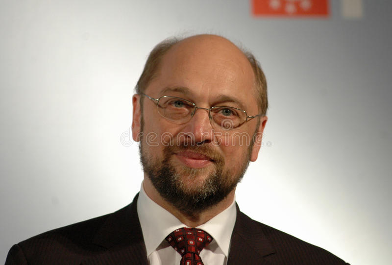 Martin Schulz. NOVEMBER 6, 2006 - BERLIN: Martin Schulz at a get together of European Social Democratic Parties in the Museum of Communication, Berlin royalty free stock image