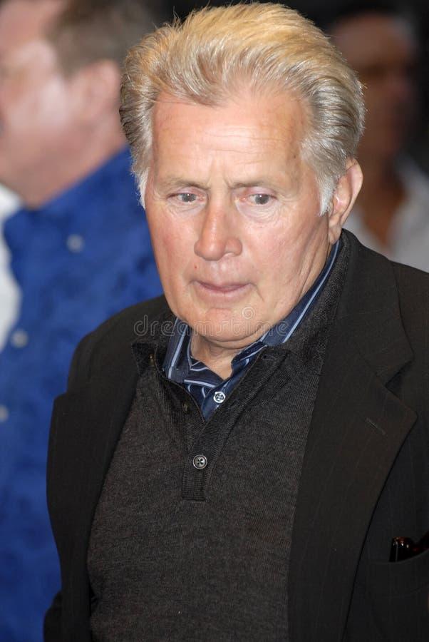 Martin Sheen op het rode tapijt royalty-vrije stock foto's