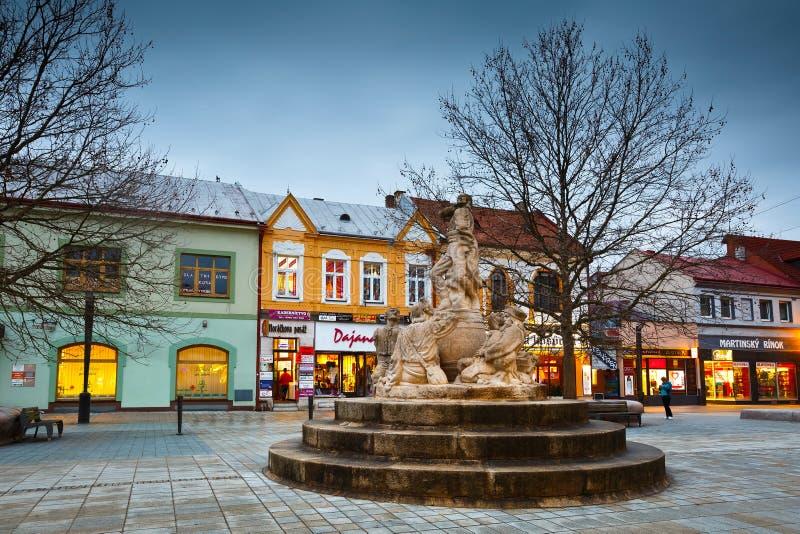 Martin, Slowakije stock foto's