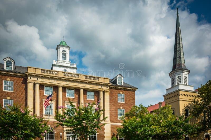 The Martin V.B. Bostetter, Jr. United States Courthouse, in Alex. The Martin V.B. Bostetter, Jr United States Courthouse, in Alexandria Virginia stock photo