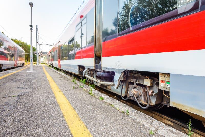 Martina Franca stacja kolejowa, Włochy zdjęcia stock
