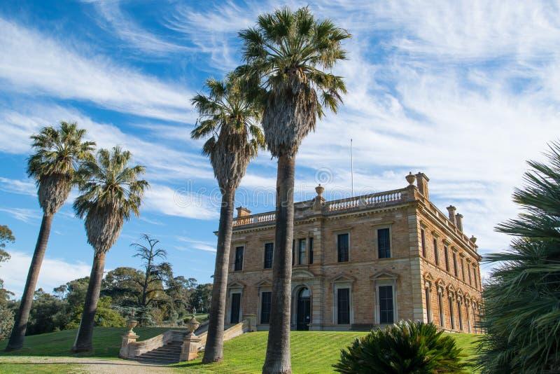 Martindale Hall en Clare Valley South Australia image libre de droits