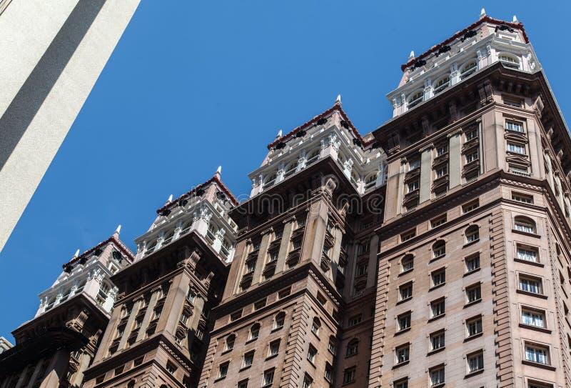 Martinelli大厦圣保罗巴西 免版税库存照片