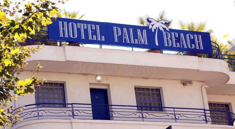 Martinez Palm Beach - Cannes fotografie stock