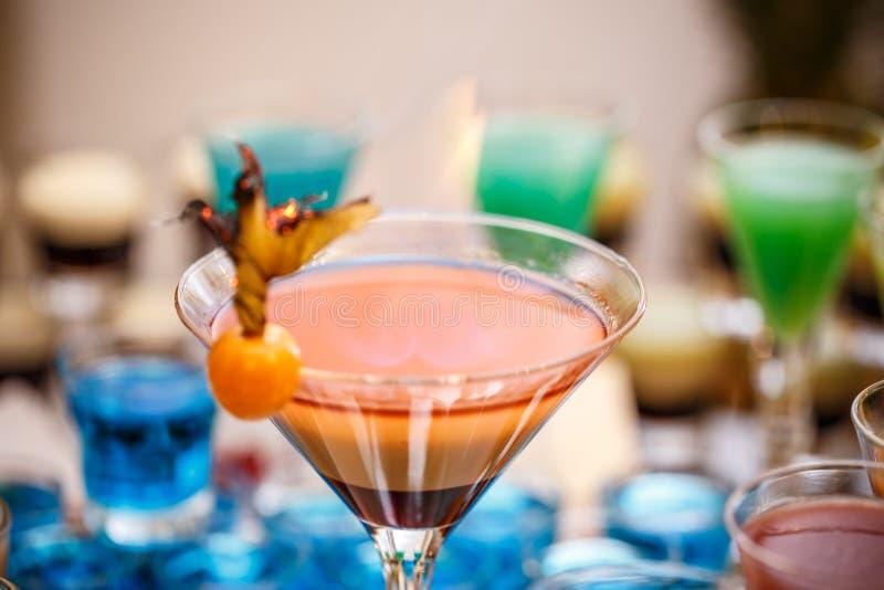 Martini καφέ κοκτέιλ στοκ φωτογραφία