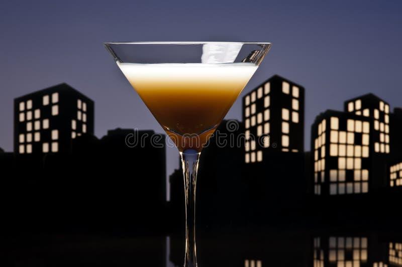 Martini καφέ μητροπόλεων κοκτέιλ στοκ εικόνα