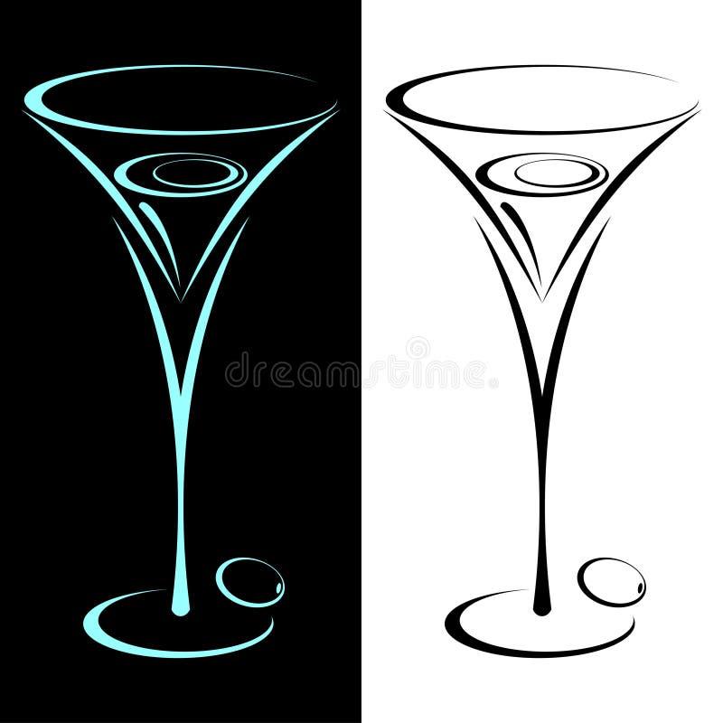 Martini. royalty illustrazione gratis