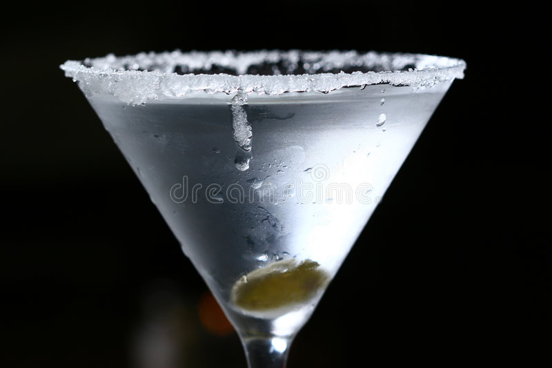 martini стоковая фотография rf