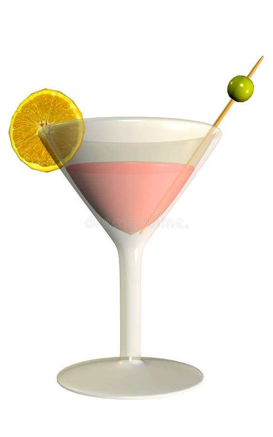 martini royalty ilustracja