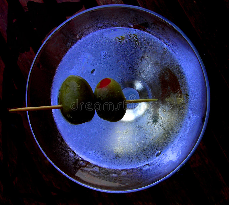 Martini photo libre de droits