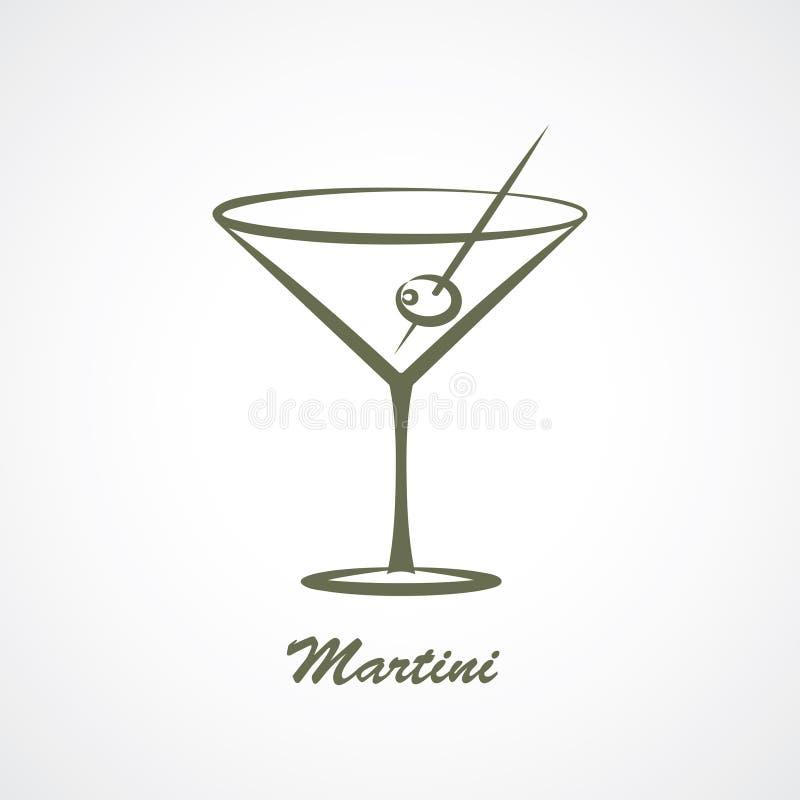 martini иллюстрация вектора