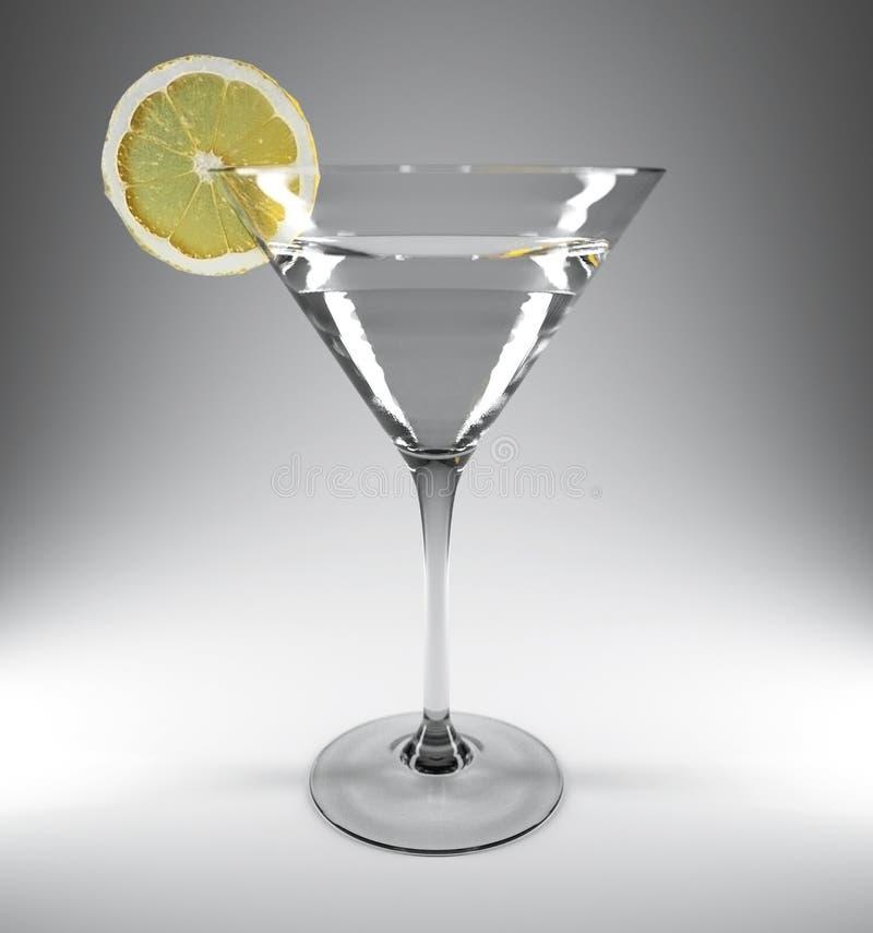 Martini stock de ilustración