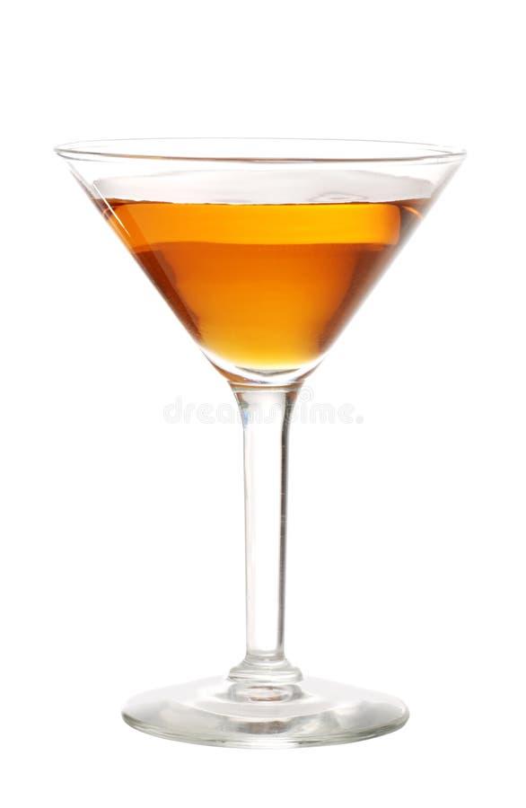 Martini anaranjado foto de archivo libre de regalías