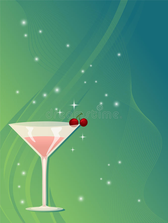 Free Martini Background Stock Photos - 17501223