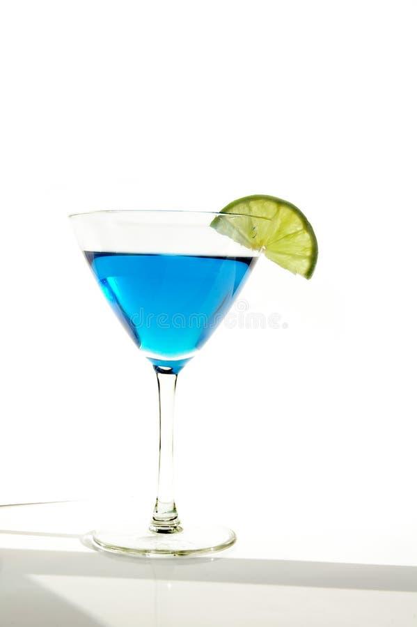Martini blu fotografia stock