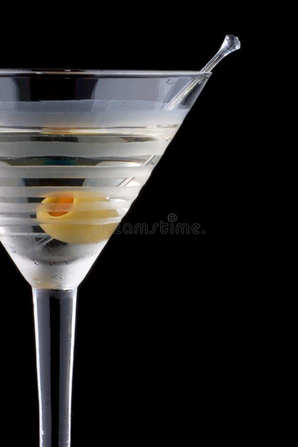 Martini classique - la plupart des série populaire de cocktails photo stock