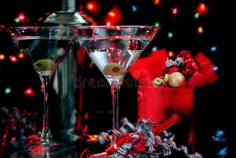 Martini-Cocktail stockfotos