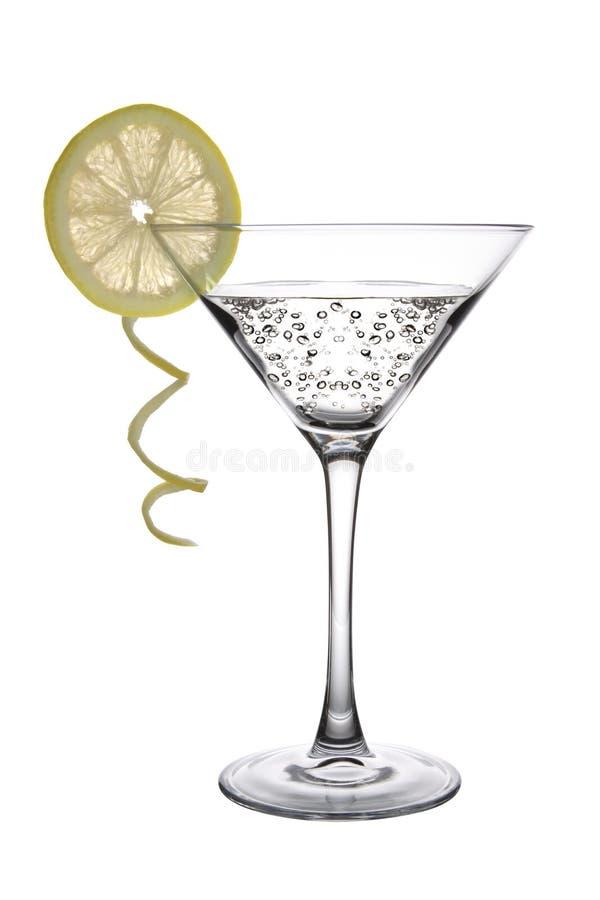 Martini com limão fotos de stock royalty free