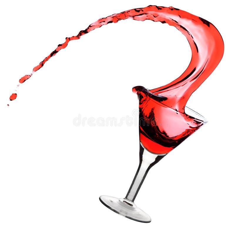 martini czerwień fotografia stock