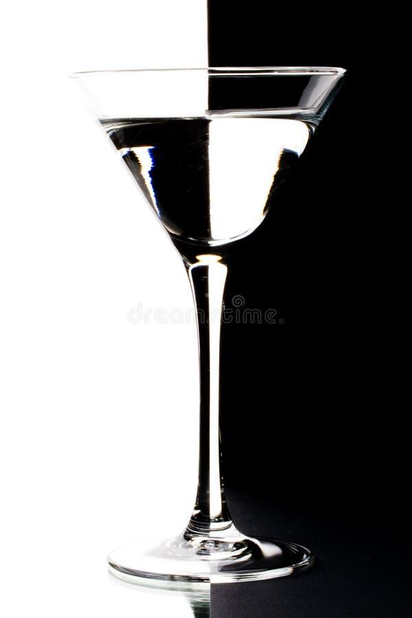 Martini dans une glace image libre de droits
