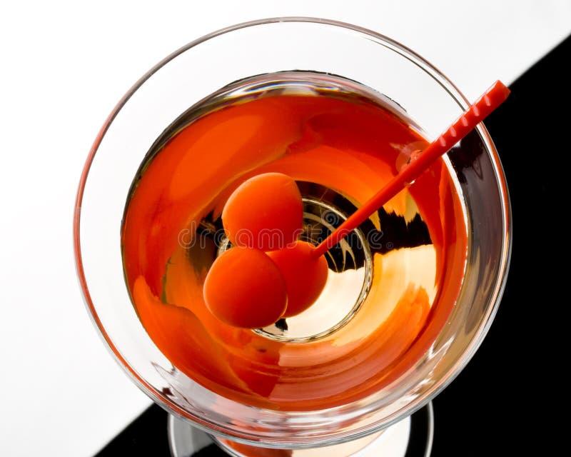 Martini dans une glace photo libre de droits