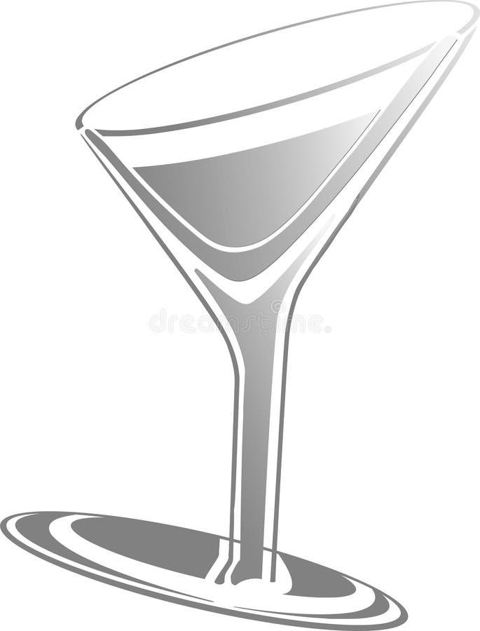 Martini de cristal fotos de archivo