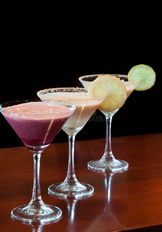 Martini de dessert images stock