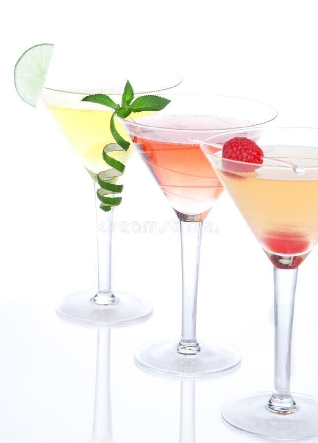 martini för alkoholcoctaildrinkar andar royaltyfri fotografi