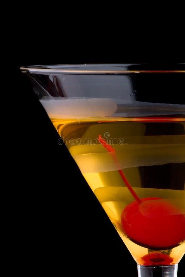 Martini francês - a maioria de série popular dos cocktail fotografia de stock royalty free