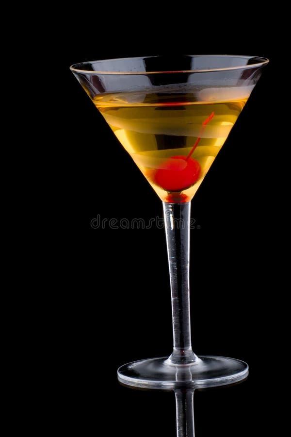 Martini francês - a maioria de série popular dos cocktail imagem de stock royalty free
