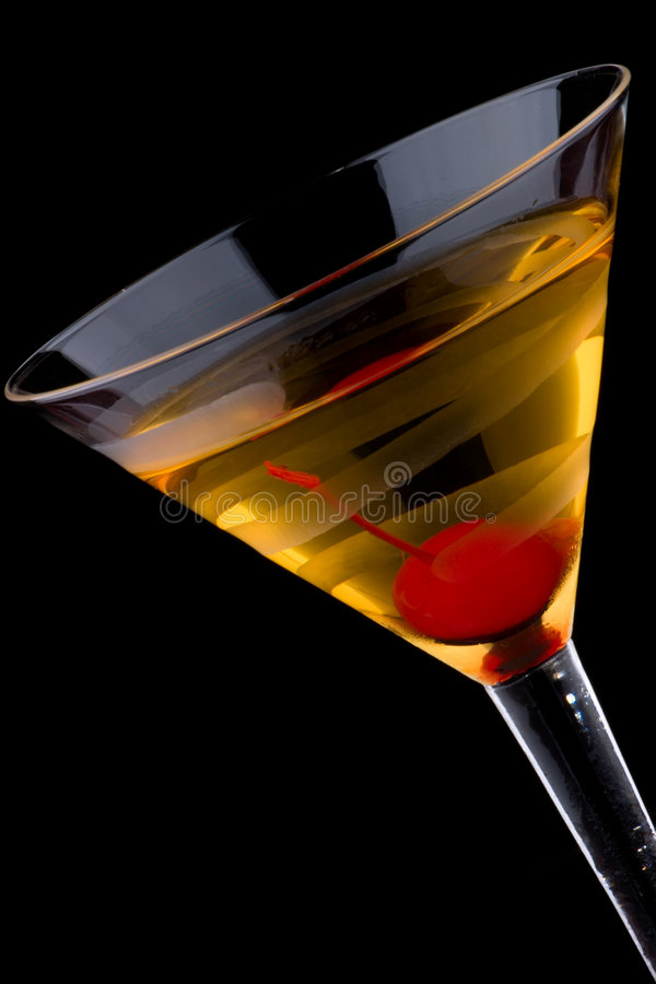 Martini francês - a maioria de série popular dos cocktail foto de stock royalty free