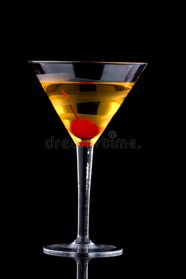 Martini francese - la maggior parte della serie popolare dei cocktail fotografia stock