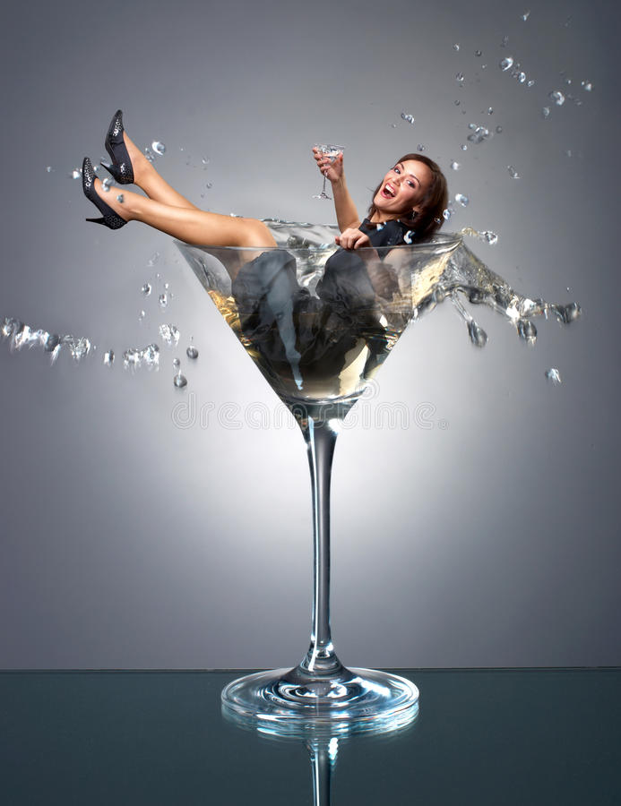 Free Martini Girl Stock Images - 19451494