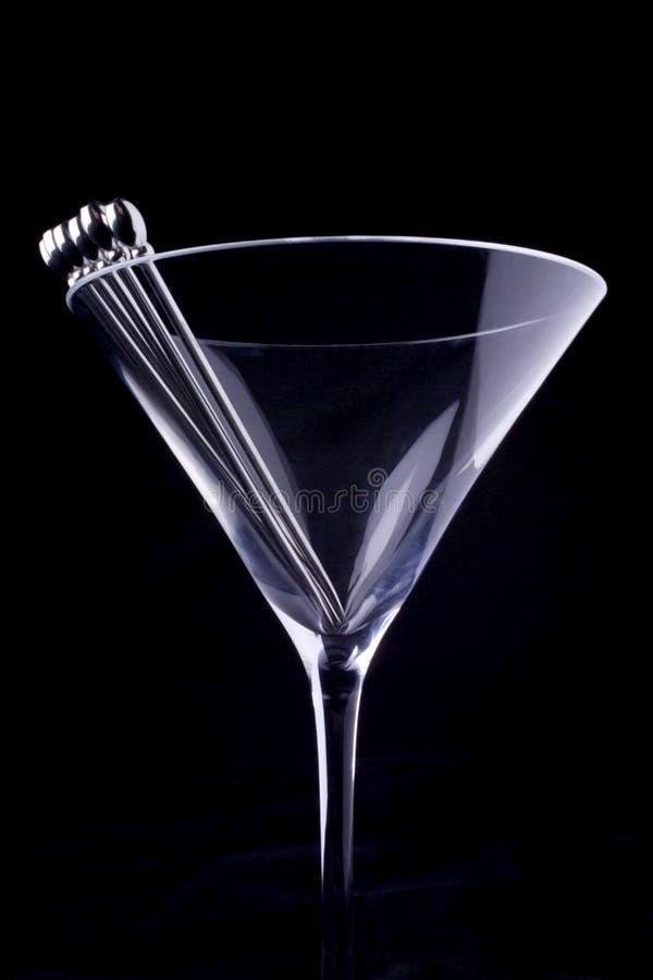 Martini-Glas stockfoto