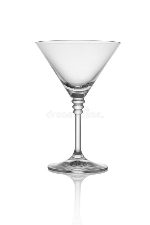 Martini-Glas lokalisiert stockbild